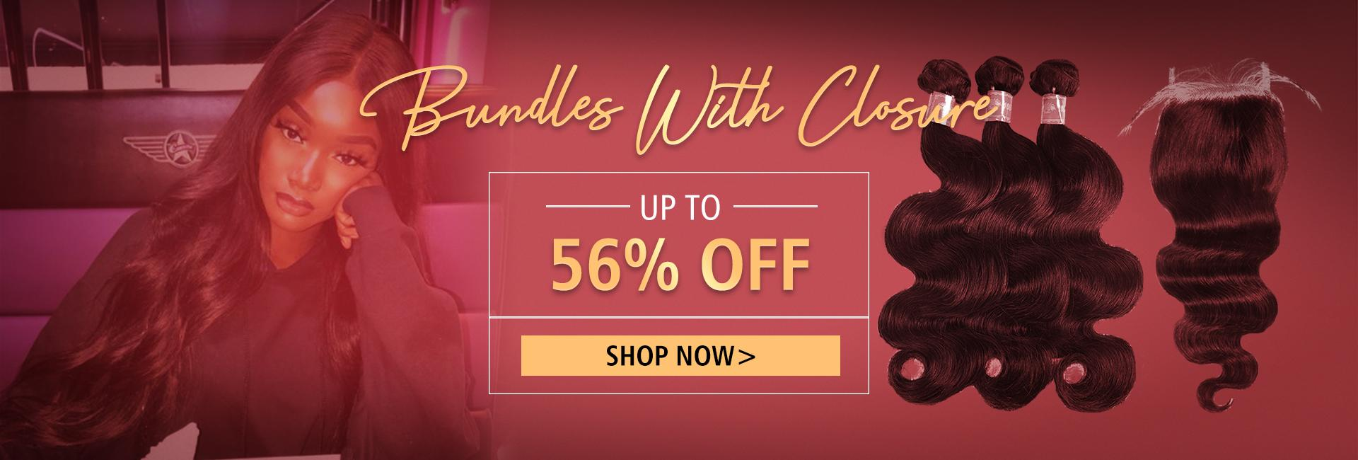 Bundles With Closure Up to 56% Off