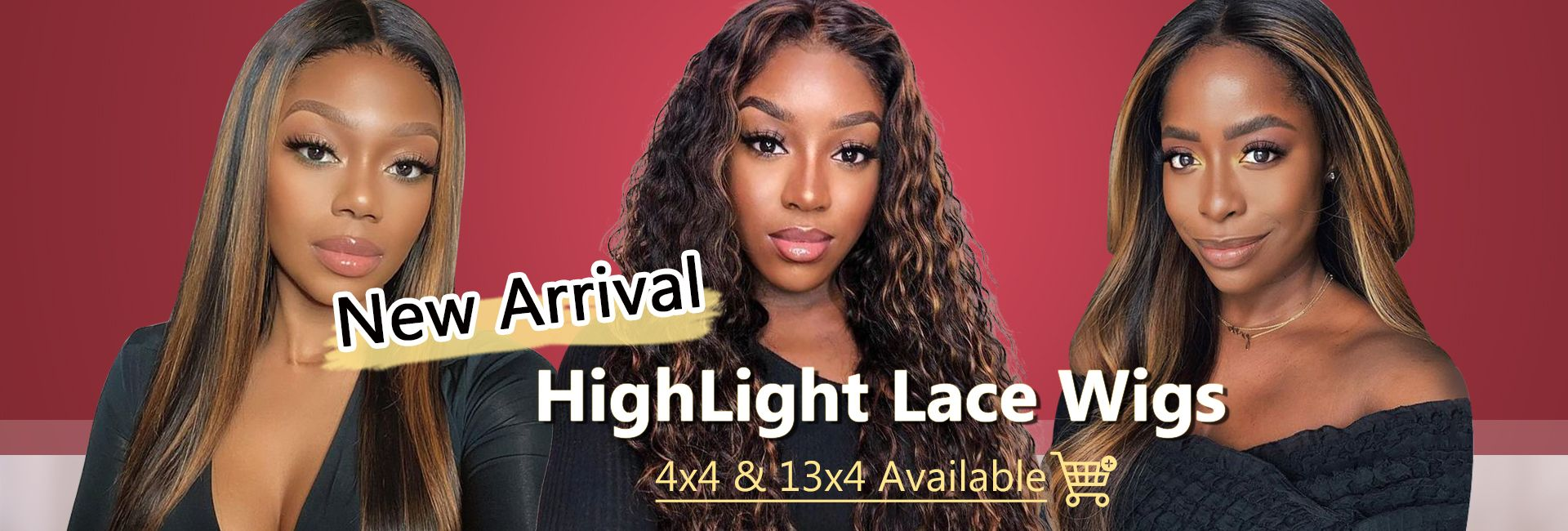 New Arrival Highlight Lace Wigs