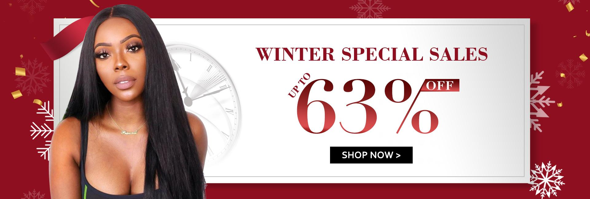 Winter Clearance Up to 63% Off