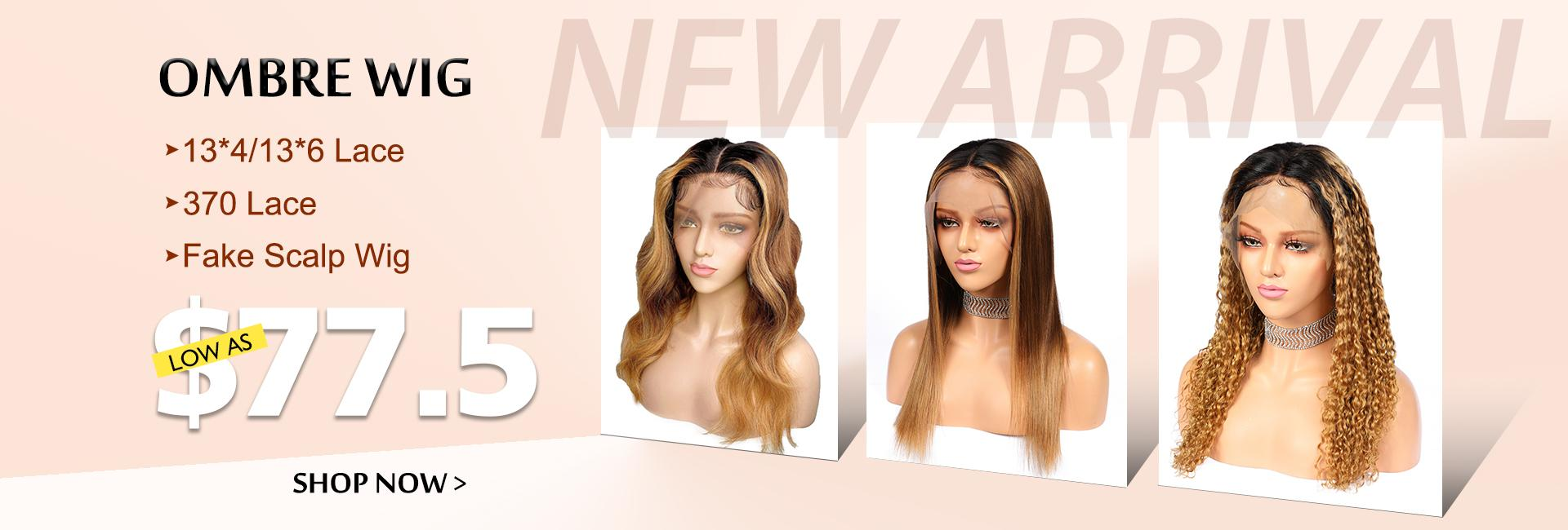 New Arrival Ombre Lace Front Wig