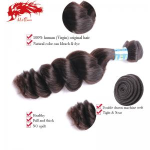 gorgeous peruvian loose wave 100% virgin hair weft wholesale