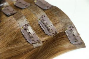 seamless clip in pu tape hair extensions straight virgin remy hair copy copy