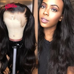 hair 180% density body wave 13x4 4x4 lace closure wigs human hair wigs remy brazilian pre plucked hairline