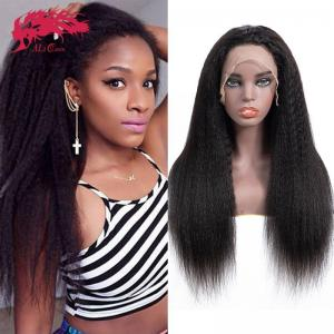 13x6 lace frontal wigs amazing natural looking remy hair human hair wigs hot sale yaki straight wigs 130 150 180 density