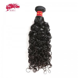 best seller water wave human remy virgin hair bundles at wholesale price