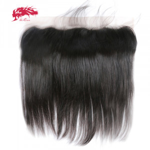 affordable 13*4 lace frontal straight closure hair real human hair extensions