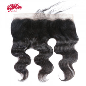 new fashion hd lace frontal 13x4 transparent lace frontal closures body wave in virgin hair