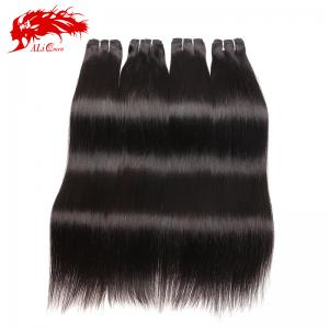 flawless 4pcs straight high quality mink hair extensions color 1b wholesale and retail
