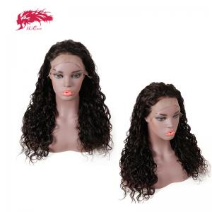 good quality human hair wigs lace frontal natural wave wigs 150 density human hair customized order