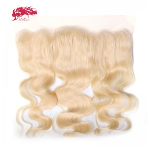 hair products body wave virgin hair lace frontal 613 color 13x4 swiss lace brazilian human hair closure