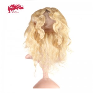 hair products body wave virgin hair 613 pre plucked 360 lace frontal closure with adjustment