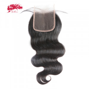 hair product body wave natural black 5*5 lace closure