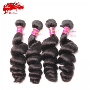 good quality 4pcs brazilian loose wave virgin hair cheap brazilian hair bundles