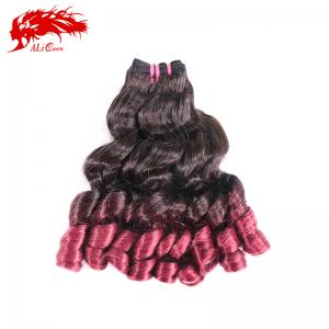 hair products funmi hair virgin hair ombre human hair wave burgundy hair