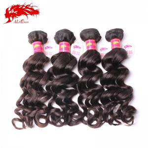 4pcs brazilian natural wave hair extensions real virgin human hair bundles