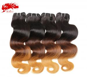 4pcs gorgeous color 1b 4 27 body wave hair 100% real virgin human hair