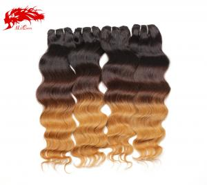 4pcs gorgeous color 1b 4 17 natural wave hair 100% real virgin human hair