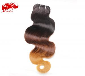 1b 4 27 color body wave ombre hair weave 100% human hair good price