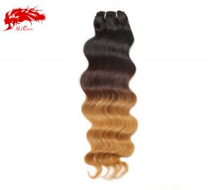 1b 4 27 color natural wave ombre hair 100% human hair good price