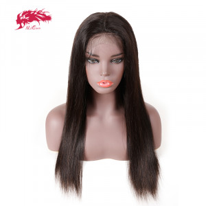 full lace wig hot sale straight wigs 150 density human hair virgin hair