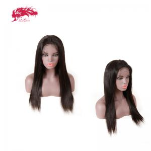 lace frontal natural looking 150 density human hair wigs straight wigs human hair customized order