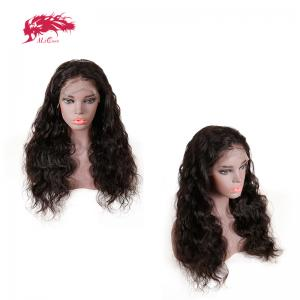 good quality human hair wigs lace frontal body wave wigs 150 density wig need to customize