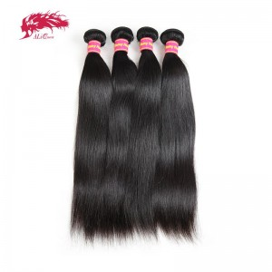 amazing 4pcs remy virgin straight hair extensions 100 human hair double weft