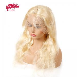 hot sale 613 blonde wigs body wave brazilian remy hair lace front wig