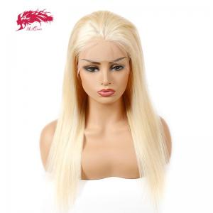 ali queen 613 blonde wigs brazilian straight lace front wig remy hair