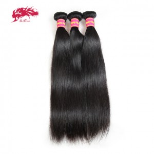 brazilian remy hair 3 pcs of straight bundles best bundles deal
