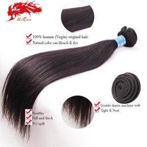 hot sale peruvian straight virgin hair 100% unprocessed human hair
